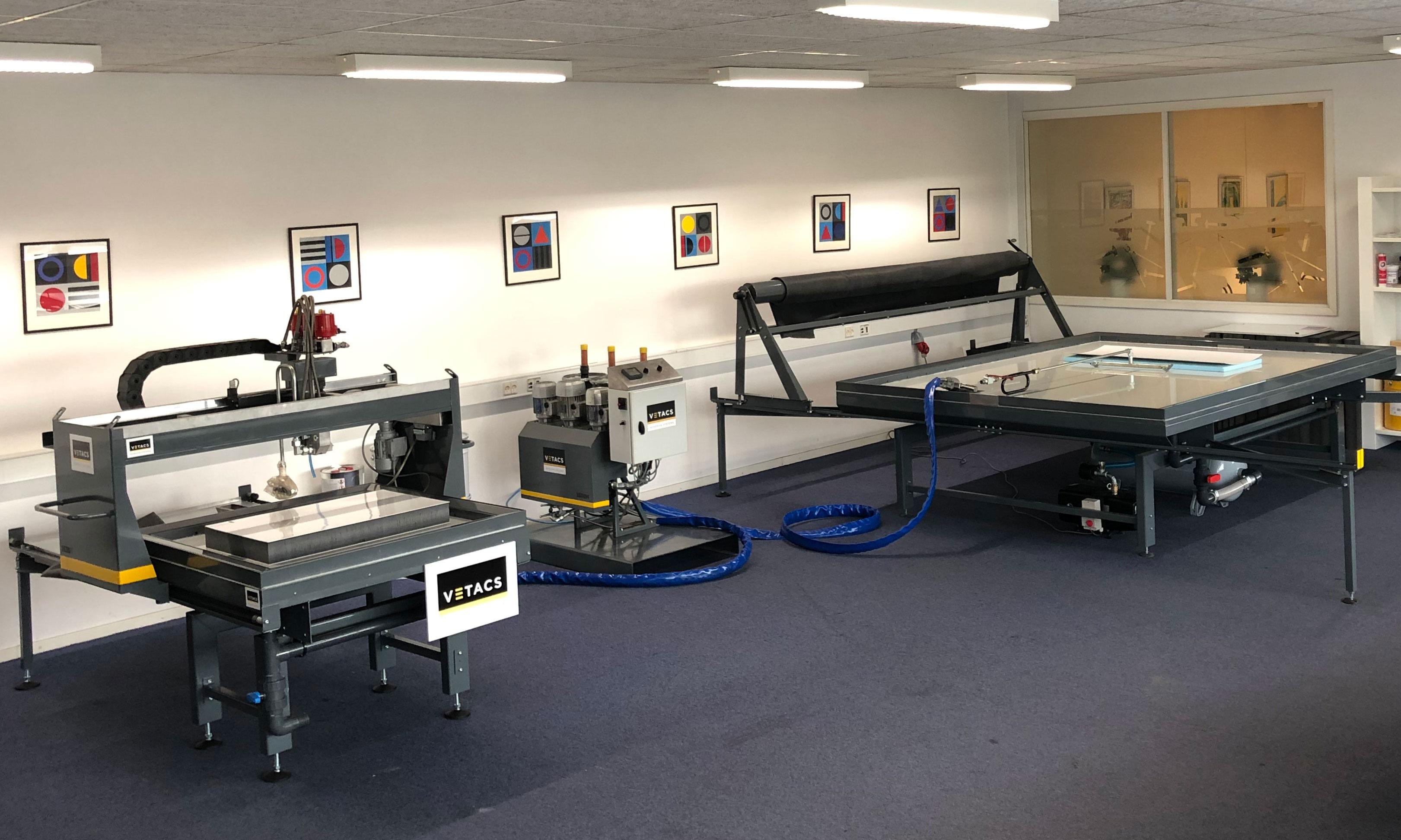 Vetacs Showroom - Vacuum Press - Hydraulic Press - Sandwich Panel Production - Vetacs